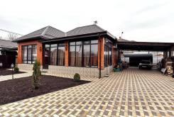 Новый дом 150 м2 с дизайнерским ремонтом, на 6 сотках (Новая Адыгея). Республика Адыгея, Тахтамукайский р-н, Новая Адыгея, ул Северная Дамба, р-н Нова...