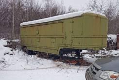 ОдАЗ. Полуприцеп ОДАЗ-828 (кунг) в Новосибирске, 20 000кг.