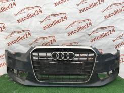 Бампер передний, Audi A6 [C7,4G] 2011> [4G0807437] оригинал б/у Ауди