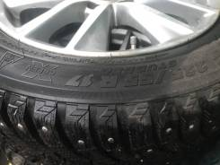 Michelin X-Ice. зимние, шипованные, б/у, износ до 5%