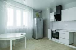 2-комнатная, улица Сабанеева 16в. Баляева, агентство, 56,0кв.м. Кухня