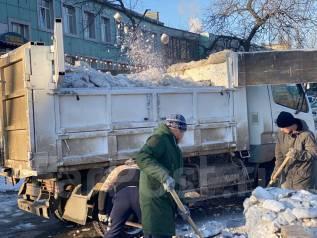 Уборка и Вывоз Снега, JSB, Самосвалы 5-16 куб, рабочие с лопатами, НалБнал