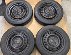 175/65R15 Bridgestone Blizzak revo GZ + Диски железные Honda R15 4*100