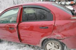 Chevrolet Aveo T250 дверь задняя левая