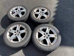 Комплект летних колес на литье 215 55 17 Б/П по РФ DE-33