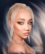Печать на холсте картин портретов фото подарок Акция! 30х40 - 100 руб!