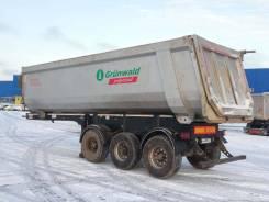Grunwald. Самосвальный стальной полуприцеп 34 куба, 38 000кг.