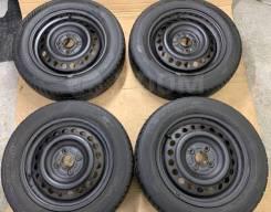 195/65R15 Dunlop Enasave RV505 Japan с дисками Honda R15 4*100 6j