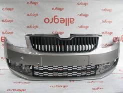 Бампер передний Skoda Octavia A7 2013-2017