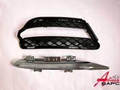 Решетка в бампер с хромом Mercedes S-Class W221 05-13 LH MalcaYang [A2218851722], левая