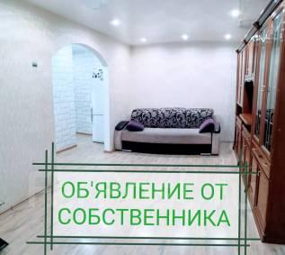 2-комнатная, улица Русская 53б. Вторая речка, частное лицо, 46,0кв.м. Комната