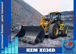 HZM. Фронтальный погрузчик XC36D, 3 600кг., Дизельный, 1,80куб. м.