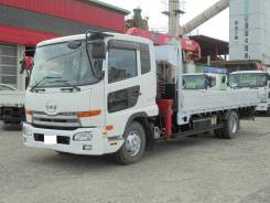 Nissan Diesel Condor. Nissan Condor, г/п 5 тонн, стрела 3т. 4 вылета UNIC, 7 000куб. см., 5 000кг., 4x2. Под заказ