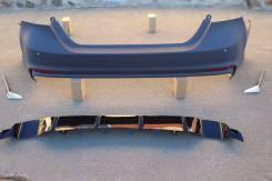 Toyota Camry 70 Задний бампер в стиле Lexus