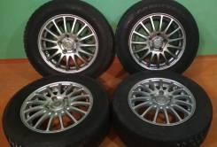 Колеса 195/65/15 Зима Goodyear с литьём Eco Forme R15; 5x114,3