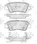 Колодки тормозные задние G-Brake GP-11414