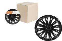 Колпаки колесные 15 Скай черный глянец, компл. 2 шт. AIRLINE 'AWCC1513