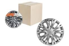 Колпаки колесные 14 Лион, серебристый, карбон, компл. 2 шт. AIRLINE 'AWCC1401