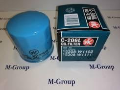 Фильтр масляный VIC C-206L Оригинал Япония