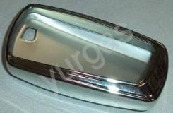 Чехол ключа зажигания BMW 2 силикон пластик яркий хром Тайвань