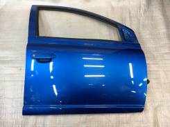 Дверь передняя правая Витц Vitz RS ncp/scp10-13-15 Синяя 8P1