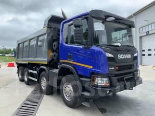 Scania P440. B8x4HZ, 13 000куб. см., 33 000кг., 8x4