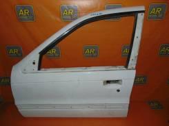 Дверь Mitsubishi Lancer C72A 1989 4G13 лев. перед.