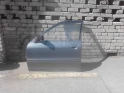 Дверь левая, передняя, в сборе, Audi 80