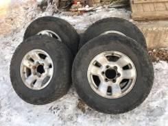 Продам 4 колеса. Возможен обмен диски на 5х139,7