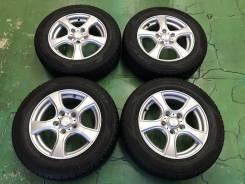 Колеса комплект Dunlop 195/65/15 с литьём Violento R15; 5х114,3