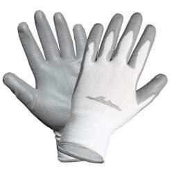 Перчатки нейлоновые с цельным ПУ покрытием ладони AIRLINE 'AWGN02