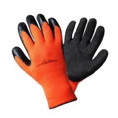 Перчатки утепленные с двухслойным латексным покрытием ладони AIRLINE 'AWGW05