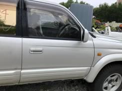 Дверь передняя правая бежевая(1А5) Toyota Hilux Surf KZN185 107000km