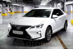 Бампер стиль Lexus Toyota Camry 50/55 2012-2018