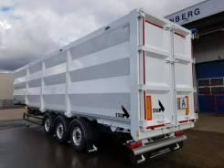 Stas. Продается новый самосвальный полуприцеп мусоровоз STAS Ferrostar 68 м3