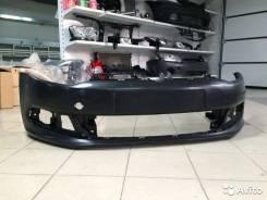 Бампер передний Фольксваген Поло седан 2010 - 2015