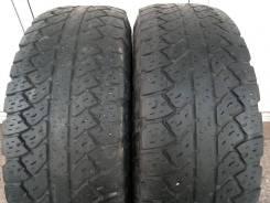 Bridgestone Dueler A/T RH-S. всесезонные, 2017 год, б/у, износ 50%