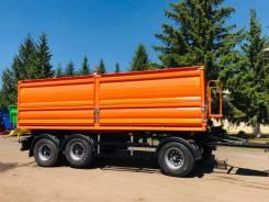 МордовАгроМаш. Самосвальный прицеп-зерновоз 85080S-К167, 190 000кг. Под заказ