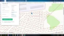 Продаётся земельный участок под ИЖС. 1 000кв.м., собственность. Фото участка