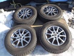 215/70 R15 Dunlop Winter Maxx 2015г на литье 5*114,3 Exceeder