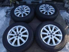 195/65 R15 Bridgestone Ice Partner 2012г на литье 5*100 Toprun