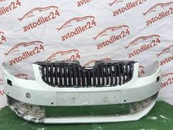 Бампер передний Skoda Octavia III, A7 2013 - 2017 Оригинал, VAG