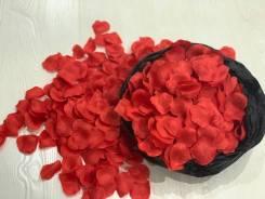 Лепестки роз искусственные.
