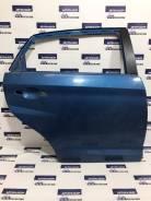 Дверь задняя правая синяя Chery Very A13