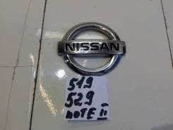 Эмблема крышки багажника [908903VA0A] для Nissan Note II [арт. 519529]