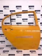 Дверь задняя правая Lifan Solano 620 оранжевая