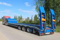 Meusburger Новтрак. Низкорамный трал Meusberger Новтрак TP-361 ССУ 1350 мм. 41500 кг., 41 500кг. Под заказ