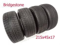 Bridgestone Blizzak Revo2. зимние, без шипов, 2013 год, б/у, износ 20%