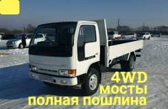 Nissan Atlas. 4WD, борт 4 тонны, мостовой, 4 200куб. см., 4 000кг., 4x4