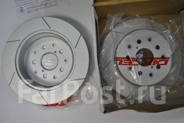 Японские тормозные диски Dixcel / замена в СТО / доставка по РФ